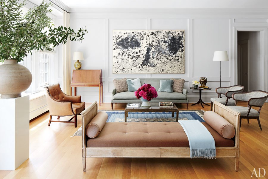 At home with Nina Garcia in her Upper East Side apartment - living room