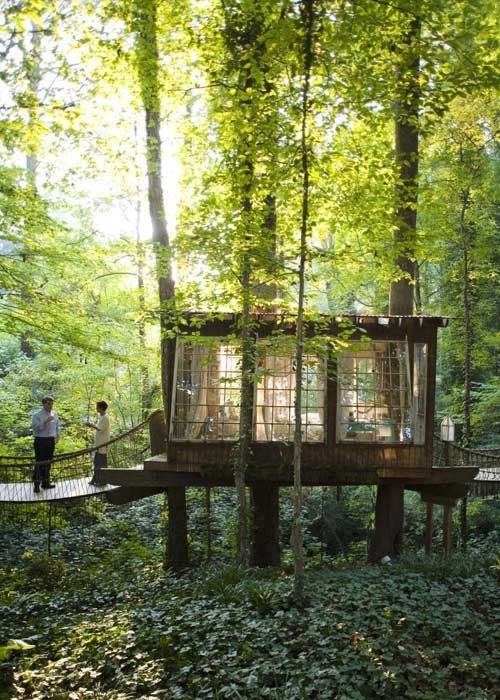 Cool treehouses - www.myLusciousLife.com - Tree houses