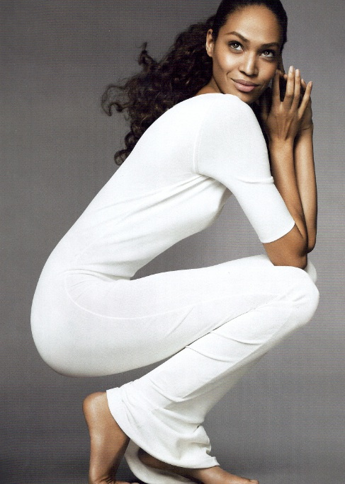 Joan-Smalls-white dress