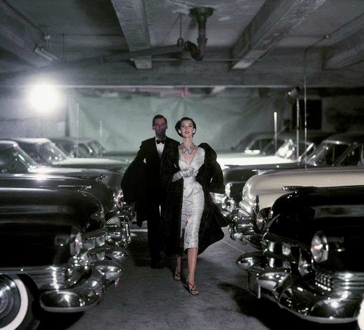 Luscious blog - John Rawlings - Parking garage - November, 1952 Vogue
