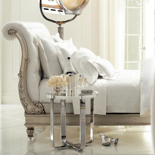 All white interiors - Ralph Lauren - Modern Glamour