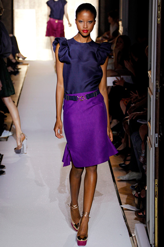 Yves Saint Laurent Spring 2012 Ready-to-Wear Collection