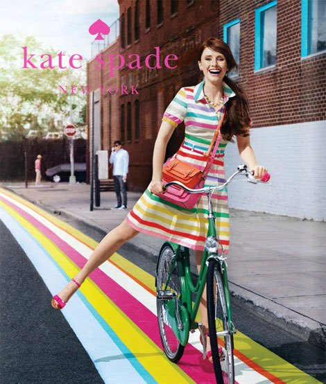 Kate Spade advertising campaigns - Bryce Dallas Howard for Kate Spade