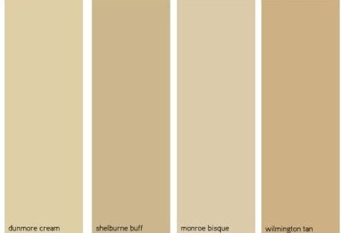 greige color chart