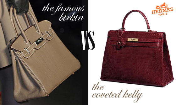 Learn the difference between the Hermes Birkin bag and the Hermes Kelly bag