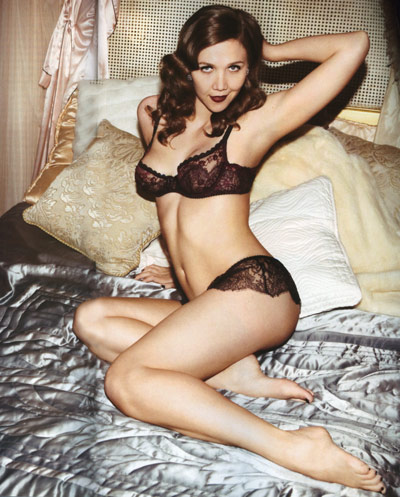 Maggie Gyllenhaal for Agent Provocateur lingerie