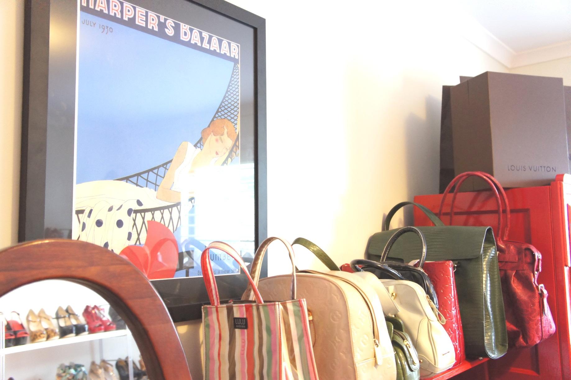 Natasha's handbags - www.myLusciousLife.com - shoe closet