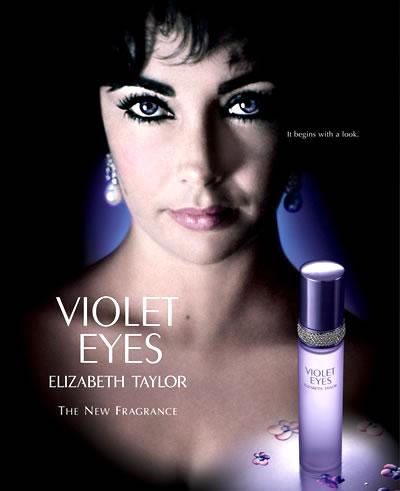Elizabeth Taylor - perfume: Violet Eyes
