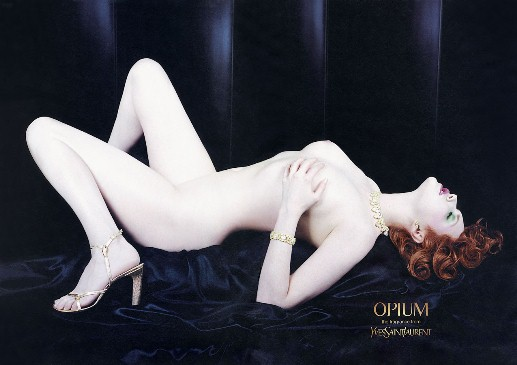 Opium perfume advertisement - Yves Saint Laurent