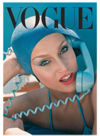 Jerry Hall - Vogue May 1975