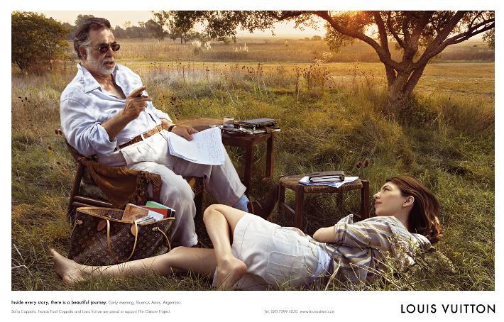 louis-vuitton-core-values-campaign-francis-ford-coppola-Sofia Coppola