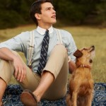 A masculine life - mylusciouslife.com - retro mens style and dog