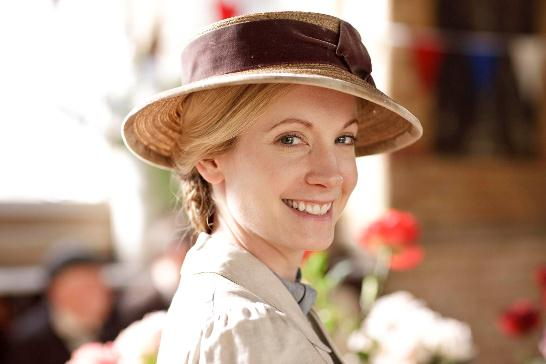 Joanne Froggatt as Anna the ladies maid in Downton Abbey