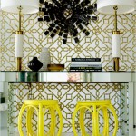 Beautiful houses and gardens - mylusciouslife.com - David Jimenez yellow stools