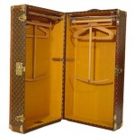 vintage luggage - Louis Vuitton Wardrobe 1930