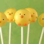 Luscious entertaining - mylusciouslife.com - yellow duck cakepops