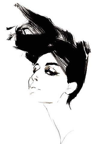 Erin OConnor by David Downton