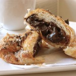 Chocolate croissants - romance and sensuality - mylusciouslife.com