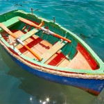 Travel inspiration - mylusciouslife.com - multicoloured rowboat