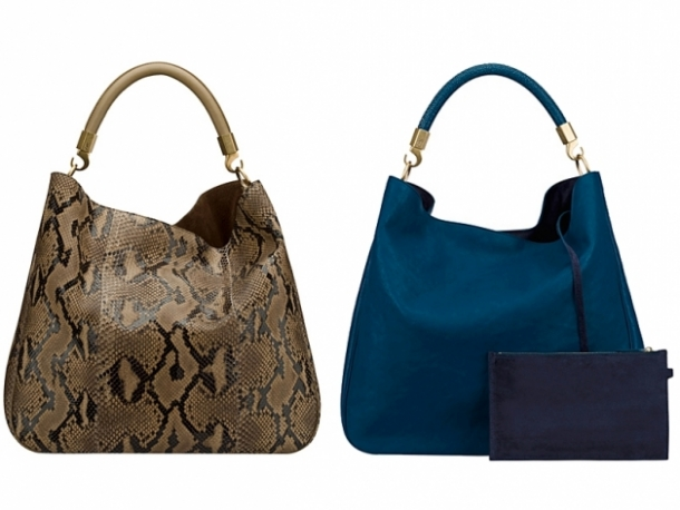 the Yves Saint Laurent Spring 2012 bags