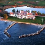Katharine Hepburns Long Island Sound home - Architecture and design