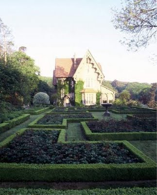 Chateau Gabriel, Normandy France - At home with Yves Saint Laurent and Pierre Berge