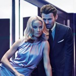 Carolyn Murphy and Alex Lundqvist