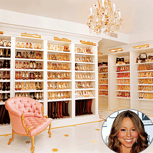 Stylish home: Shoe closets