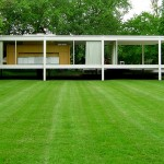 Beautiful houses and gardens - Farnsworth House by Ludwig Mies van der Rohe