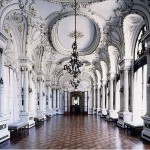 Historical building styles - mylusciouslife.com - The interior hall of the Naval Center