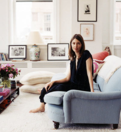 Sofia coppola mylusciouslife.com style icon in her apartment