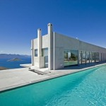 Beautiful houses and gardens - Luscious home in Greece with pool blue waters view