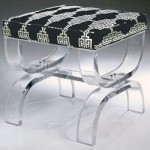 A luscious life - lucite Mambo Bench