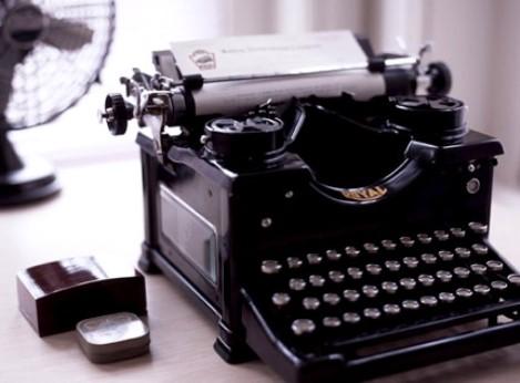 Vintage typewriter photos