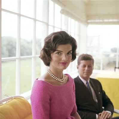 Jackie Kennedy - Mark Shaw for a cover story in LIFE 1959