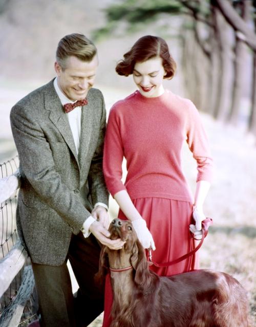 Tom Palumbo - couple with dog