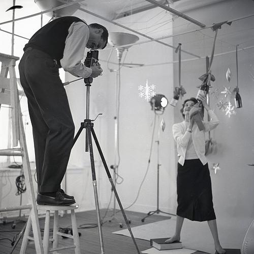 Tom Palumbo in the studio - mid 1950s