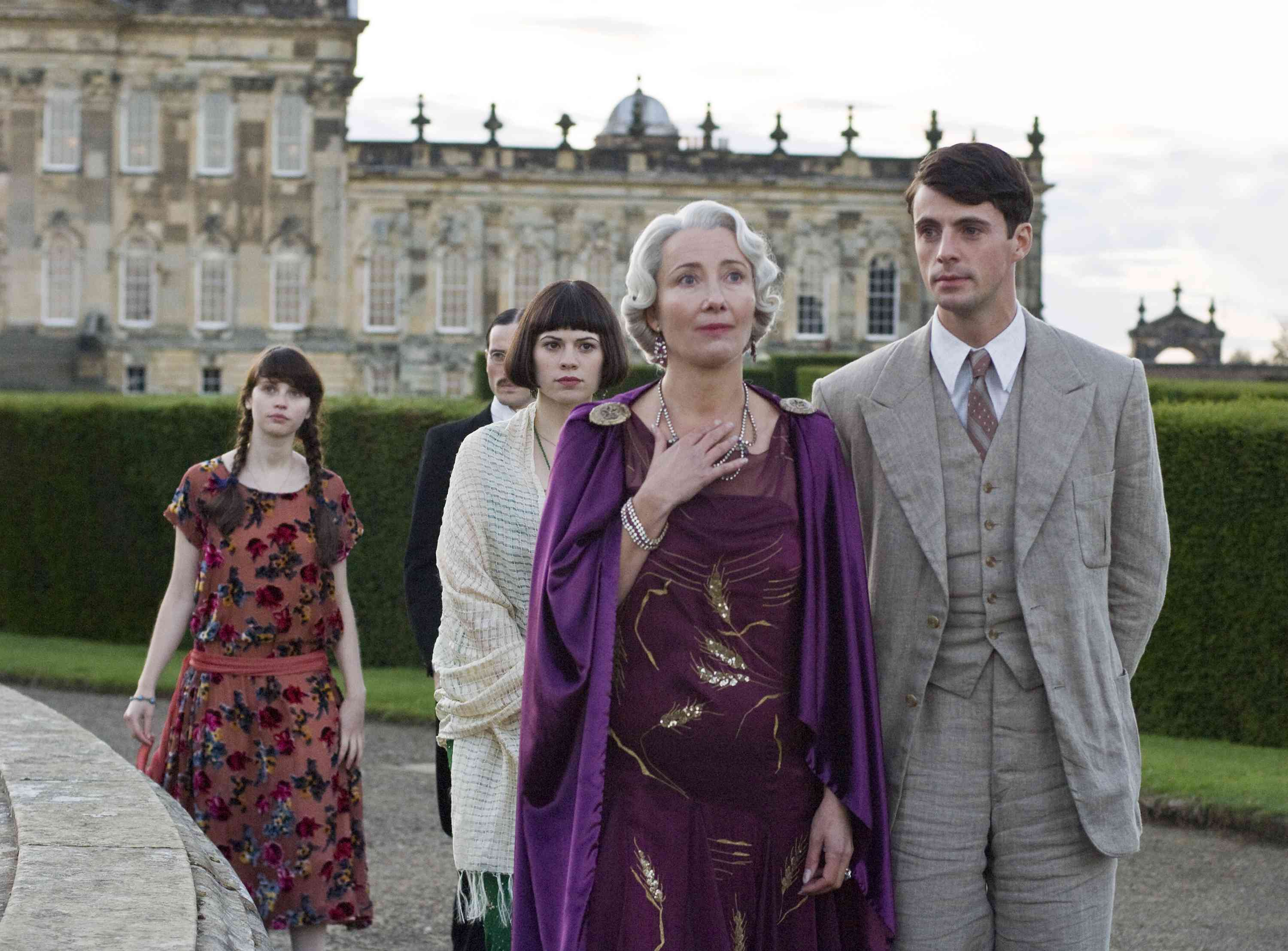 Brideshead Revisited - Emma Thompson and cast