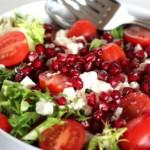 Pomegranate salad - An Australian Christmas - mylusciouslife.com