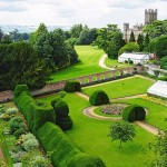 Downton Abbey and Highclere Castle interiors - gardens