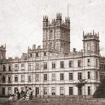 Highclere Castle circa 1857 aka Downton Abbey