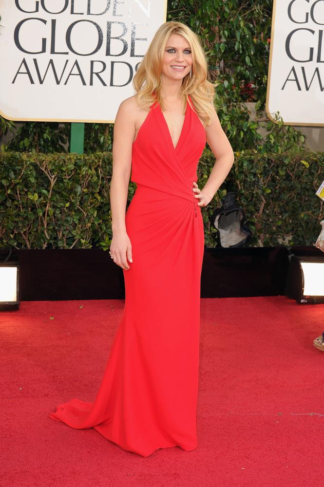 Golden Globes 2013 - Claire Danes in Versace