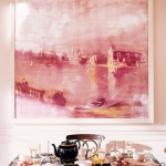 Martha Stewart - Skylands on Mount Desert Island in Seal Harbor Maine - pink decor
