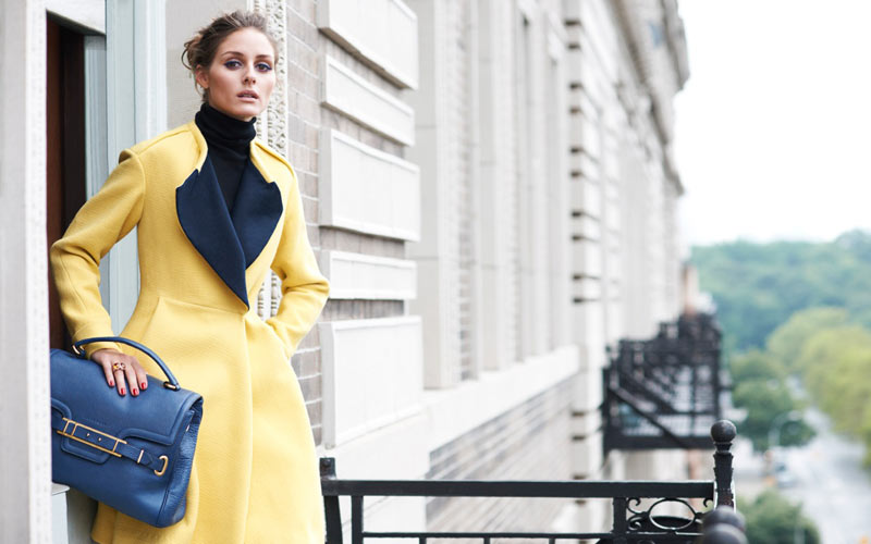 Olivia Palermo in Jill Stuart by Eric Guillemain