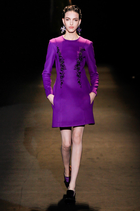 Alberta Ferretti Fall 2013 RTW collection