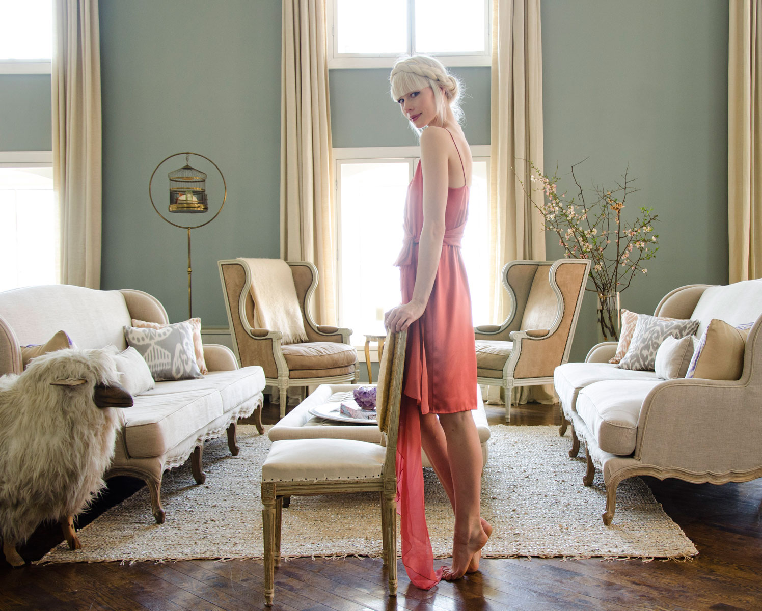 At home with Erin Fetherston by Claiborne Swanson Frank for Vogue