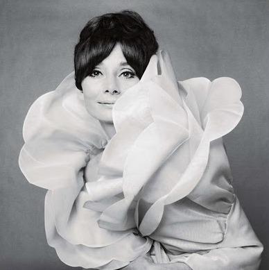 Audrey Hepburn white frock