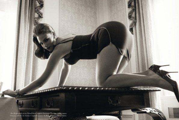 Belle Vere by Steven Meisel for Vogue Italia June 2011