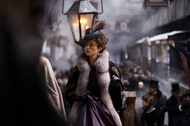 Keira Knightley as Anna in the 2013 adaptation