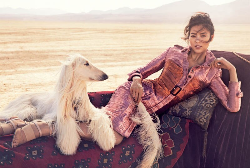 Liu Wen by Will Davidson for Vogue Australia March 2013